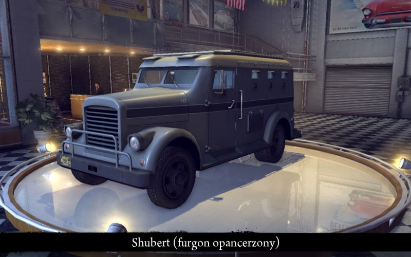 Shubert Armored Truck