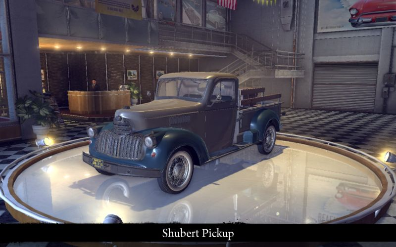 Shubert Pickup