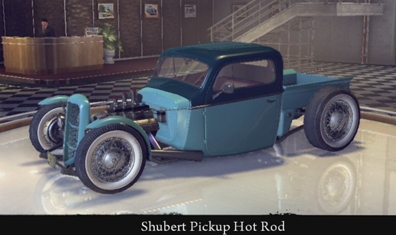 Shubert Pickup Hot Rod
